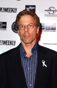 Greg Germann at the Oscar Night Benefit Party for Amnesty International and the ACLU Foundation.