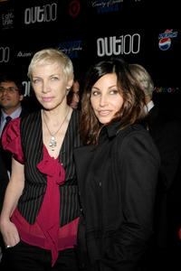 Gina Gershon and Annie Lennox at the 13th Annual OUT 100 Awards.