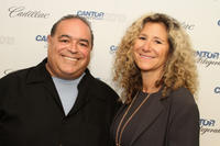 Joseph R. Gannascoli and Edie Lutnick at the Annual Charity Day in New York.