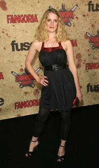 Shauna MacDonald at the fuse Fangoria Chainsaw Awards.