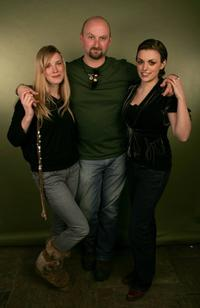Shauna MacDonald, Director Neil Marshall and Nora-Jane Noone at the 2006 Sundance Film Festival.