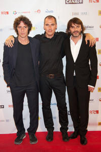 Diego Peretti, director David Marques and Fernando Tejero at the Madrid premiere of