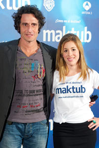 Diego Peretti and Laura Esquivel at the photocall of