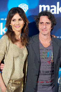 Goya Toledo and Diego Peretti at the photocall of