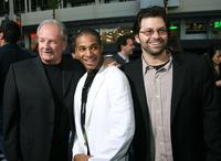 Producer Lee Stanley, Jade Yorker and producer Shane Stanley at the premiere of