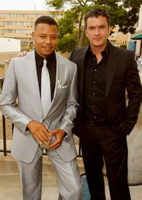 Balthazar Getty and Terrence Howard at the 2007 NCLR ALMA Awards.