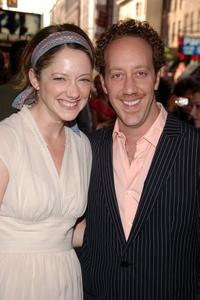 Judy Greer and Joey Slotnick at the Broadway Opening of