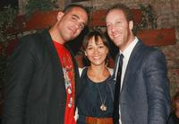 Bobby Cannavale, Rashida Jones and Joey Slotnick at the after party of the premiere of