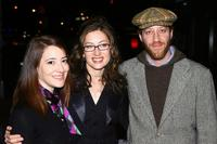 Clea Lewis, director Annabelle Gurwitch and Joey Slotnick at the theatrical premiere party of