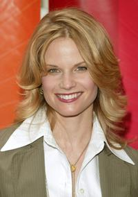 Joelle Carter at the NBC upfront.
