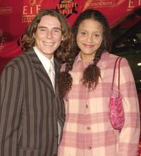George Blodwell and Sydney Tamiia Poitier at the Jaguar's Tribute to Style.