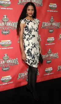 Sydney Tamiia Poitier at the Spike TV's