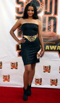 Sydney Tamiia Poitier at the 21st Annual Soul Train Music Awards.