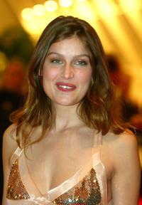 Laetitia Casta at the 57th International Cannes Film Festival opening ceremony dinner.