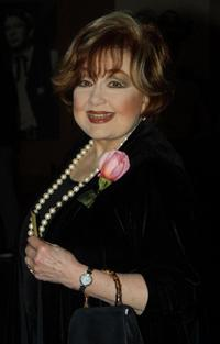 Edie Adams at the memorial tribute to the late film director Stanley Kramer.