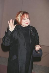 Edie Adams at a memorial service for the late entertainer Steve Allen.