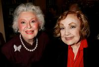 Edie Adams and Ann Rutherford at the premiere book signing of Ben Alba's