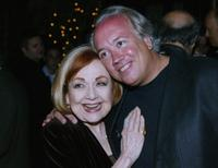 Edie Adams and Rick McKay at the after party at the premiere of
