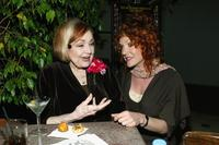 Edie Adams and  Ethlie Ann Vare at the after party at the premiere of