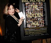 Edie Adams at the sneak preview for the documentary