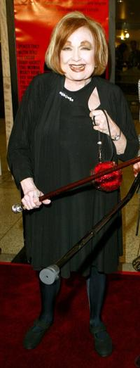 Edie Adams at the 40th Anniversary screening of