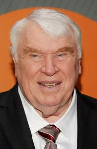 John Madden at the NBC Upfronts.