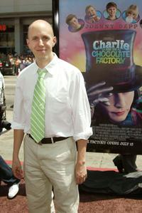 John August at the premiere of