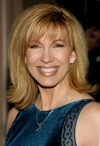 Leeza Gibbons at the Larry King Cardiac Foundation Gala.