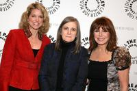 Paula Zahn, Amy Goodman and Marlo Thomas at the