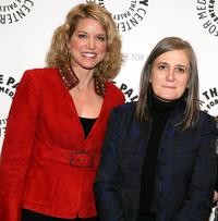 Paula Zahn and Amy Goodman at the