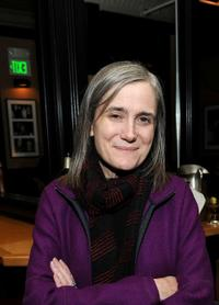 Amy Goodman at the Skoll opening dinner during the 2010 Sundance Film Festival.