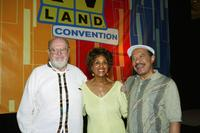 Ned Wertimer, Marla Gibbs and Sherman Hemsley at the First Official TV Land Convention.