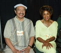 Sherman Hemsley and Marla Gibbs at the First Official TV Land Convention.