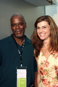 Stanley Nelson and Patricia Finneran at the Silverdocs: AFI/Discovery Channel Documentary Festival.