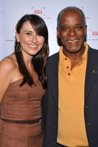 Juliana Brannum and Stanley Nelson at the International Documentary Association's (IDA) 25th Annual Awards Ceremony.