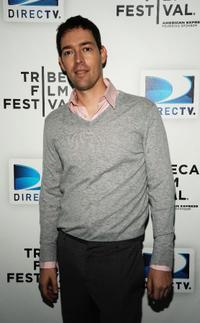 Mark Polish at the DIRECTV Tribeca Press Center.