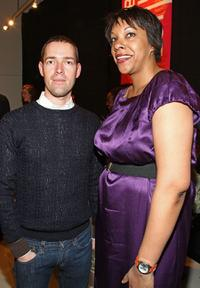 Mark Polish and Julie La'Bassiere at the 2009 Tribeca Film Festival.