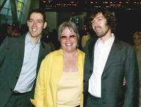 Michael Polish, Kathy Bates and Mark Polish at the premiere of