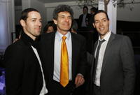 Michael Polish, Alan Horn and Mark Polish at the after party of the premiere of