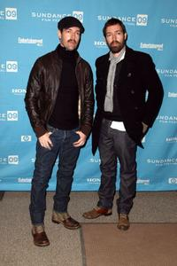 Mark Polish and Michael Polish at the premiere of