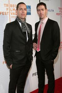 Michael Polish and Mark Polish at the after party of