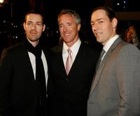 Michael Polish, J. Geyer Kosinski, and Mark Polish at the premiere of