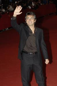 Vincenzo Salemme at the premiere of