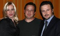 Alexis Arquette, Richmond Arquette and David Arquette at the AFI Associates luncheon.