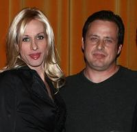 Alexis Arquette and Richmond Arquette at the AFI Associates luncheon.