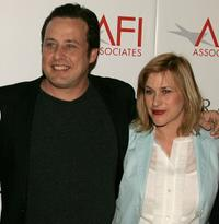 Richmond Arquette and Patricia Arquette at the AFI Associates luncheon.