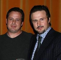 Richmond Arquette and David Arquette at the AFI Associates luncheon.
