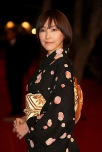 Kumiko Aso at the premiere of