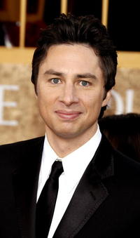 Zach Braff at the 64th Annual Golden Globe Awards.