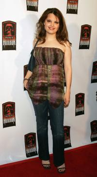 Kimberly J. Brown at the launch party of